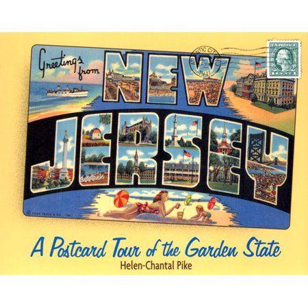 Books New Jersey Vintage Postcards Tours