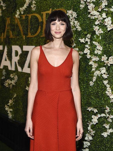 Actress Caitriona Balfe arrives at Starz's 'Outlander' FYC Special Screening and Panel at the Linwood Dunn Theater.