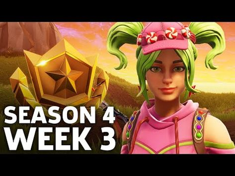 Fortnite: Battle Royale - Season 4 Week 3 Challenge