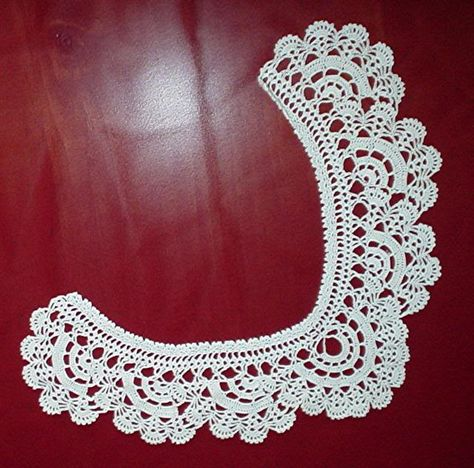 Crochet collar patterns