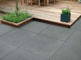 Greyline/ Betonplatte | Terrassenplatten, Pflastersteine, Gartenmauer, Stufen