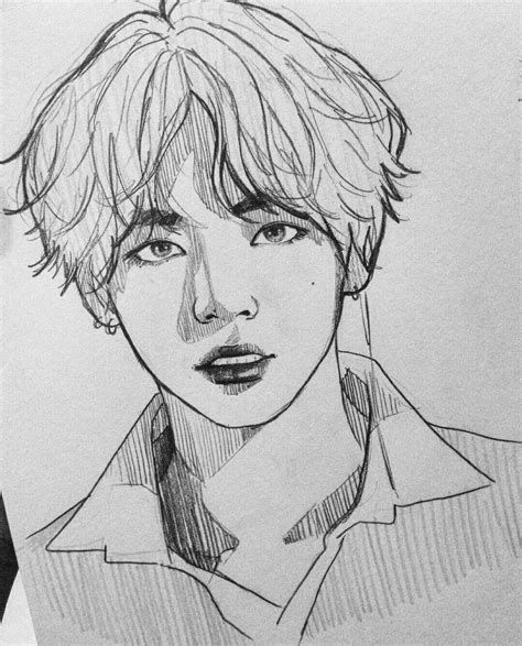 Newest Images Bts Coloring Pages Style The Gorgeous Element Pertaining To Colour Is That It Is As Easy Or Maybe Because Com In 2021 Bts Drawings Kpop Drawings Drawings