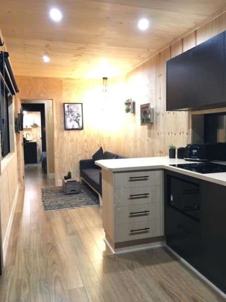 40ft High Cube Shipping Container Home Tiny Home Container House Shipping Container Homes Home