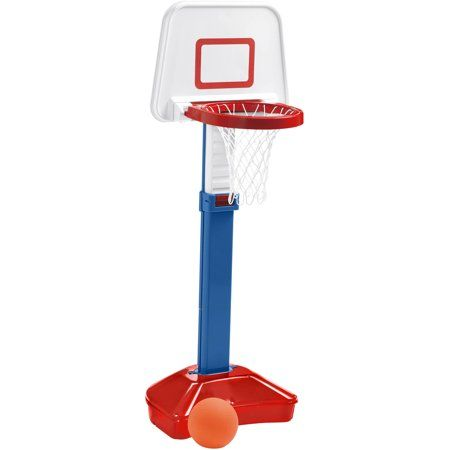 Play Day Jump N Slam Basketball Set Walmart Com Slam Basketball Plastic Toys Basketball Hoop