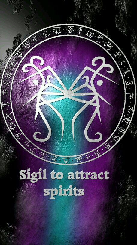 Sigil to attract spirits | Sigils | Magic symbols, Sigil