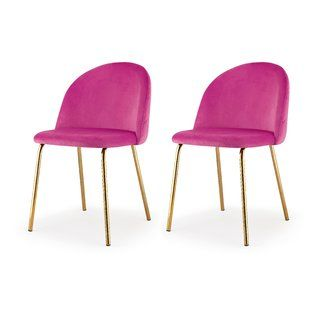Hot Pink Dining Chair Wayfair With