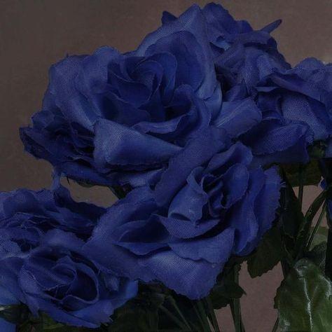 Blue Roses, Silk Roses, Silk Flowers, Royal Blue Flowers, Beautiful Rose Flowers, Flowers Nature, Open Rose, Flower Aesthetic, Rose Buds