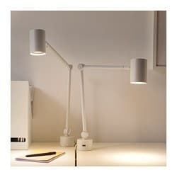 Nymane Work Wall Lamp White Ikea Wall Lamp Wall Lamps Diy Lamp