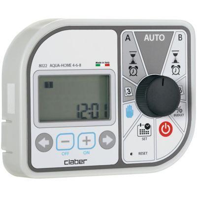 Programmateur Aqua Home Claber 24 V En 2020 Programmateur Electrique Aqua Et Electrique