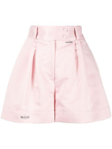 Styland Wide Tailored Shorts - Farfetch