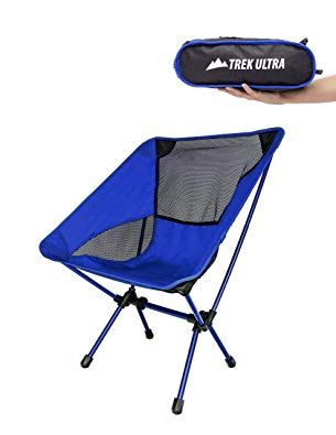 a847fd39e1 TrekUltra Portable Compact Lightweight Camp Chair with Bag ...