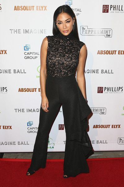 Nicole Scherzinger attends the 5th Annual Imagine Ball honoring Serena Williams.