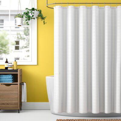 Zipcode Design Dyllan 2 Piece Shower Curtain Set Shower Curtain