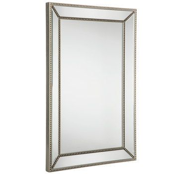 Beaded Border Wall Mirror Mirror Beauty Room Mirror Border