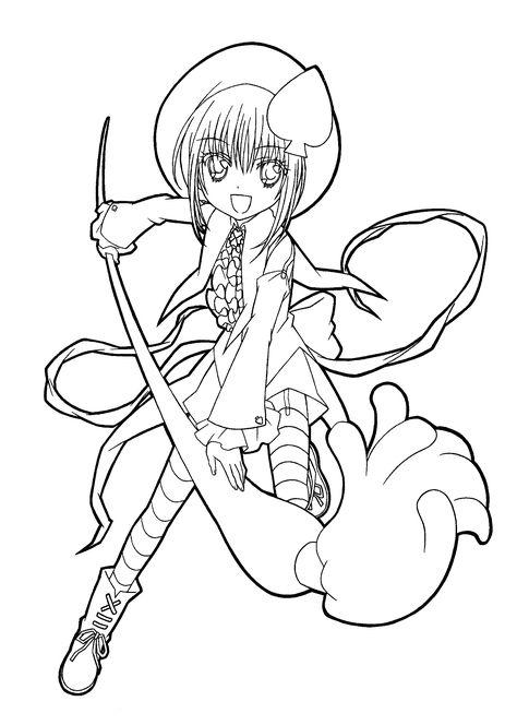 anime malvorlagen free  malbild