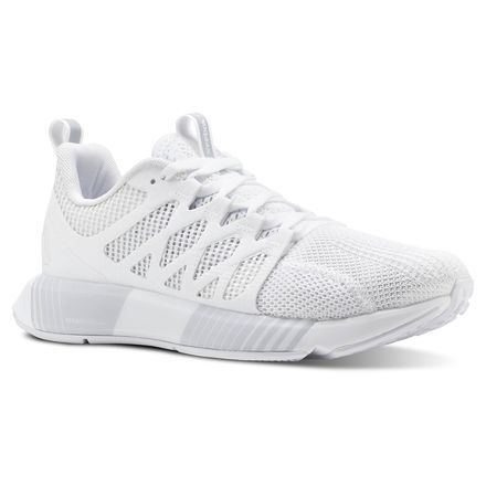 24001cc3 Reebok Shoes Women's Fusion Flexweave Cage in White/Spirit White Size 9.5 -  Running Shoes in 2019 | Products | White reebok, Reebok, Sneakers fashion  ...