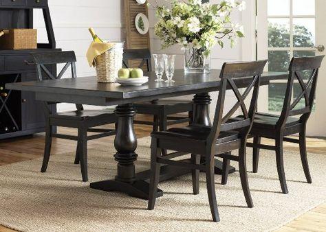 Amazon Com Liberty Furniture Sundance Lake Trestle Table 126
