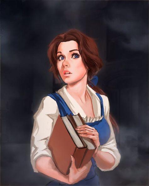 Belle Fan Art #disney #fanart #disneyfanart