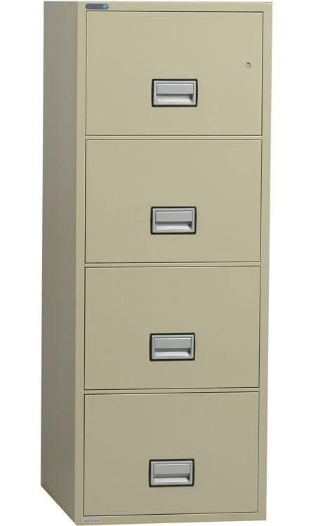 Phoenix Safe Lgl4w25 25 4 Drawer Legal Size Fire File Cabinet Filing Cabinet Drawers Hanging Folders