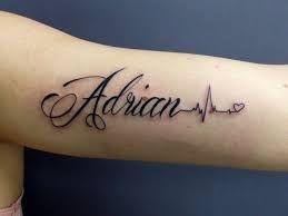 Resultado De Imagem Para Adrian Nombre Tattoo Quotes Tattoos Adrian