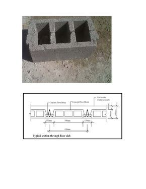Hourdis Dimension Size Design And Drawing Hourdis Also Call Concrete Hollow Pot Block Deck Block Concrete Roof S Concrete Floors House Roof Concrete Blocks