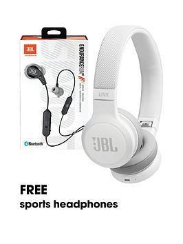 Live 400 Wireless Bluetooth Headphones White Headphones White Headphones Sports Headphones