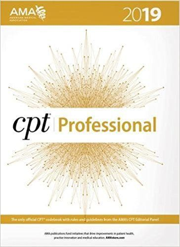 PDF DOWNLOAD] CPT Professional Edition 2019 (CPT / Current