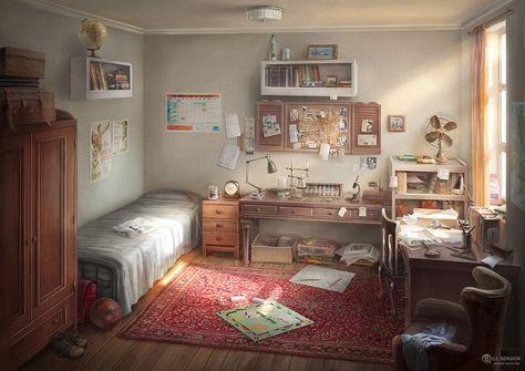 Bill Bergson's room by AncientKing on DeviantArt