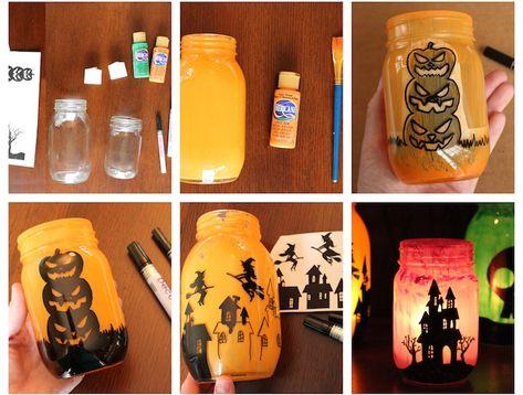 1001 Tutos Et Idées Créatives De Décoration Halloween à