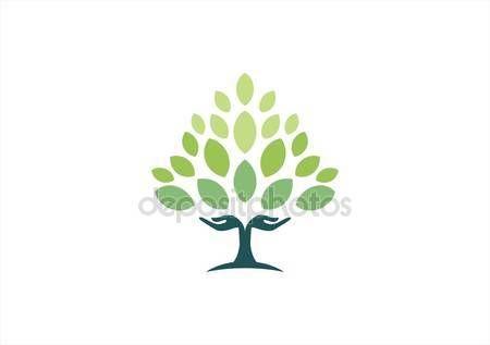 Hand Trees Hands Arms Tree Natural Concept Health Healthy Yoga Logo Symbol Icon Vector Design Graphic Il Health Symbol Tree Logos Plant Logos