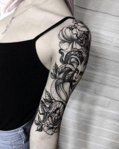 Full Sleeve And Half Sleeve Tattoo Ideas For Women Sleevetattoos Women Tattoos Sleeve Tattoos Half Sleeve Tattoo Medusa Tattoo