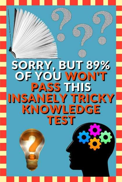 Pin On Quizzes