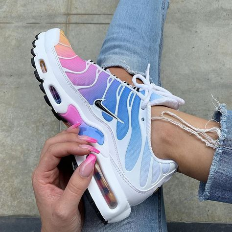 air max plus tn metallic rainbow