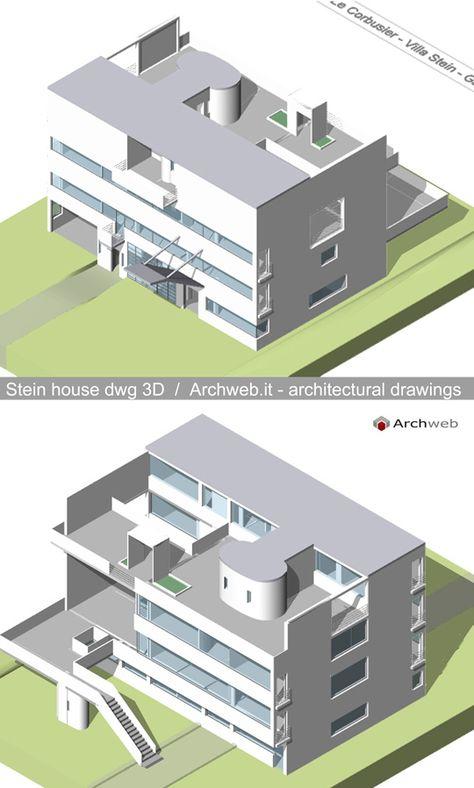 Maison Canneel, Brussels Belgium (1929) Le Corbusier Archweb 3D