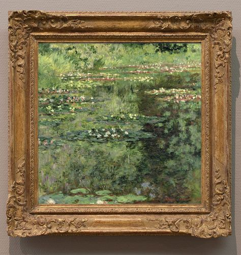 """Claude Monet, """"Water Lillies"""", 1904 - via ZsaZsa Bellagio - Like No Other: The Elegant Home Claude Monet, Art Hoe, Aesthetic Pictures, Wall Collage, Art Inspo, Bonsai, Art Museum, Art Gallery, Beautiful Pictures"""