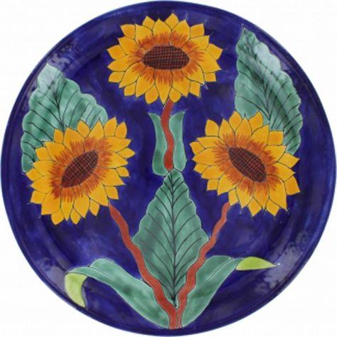 11.8 Wall Decor Plate 9.80 Ceramic Plate 13.8  253035 Centimeters CM005 Mexican Talavera dinner plate