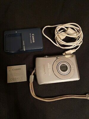 Canon Powershot Digital Elph Sd630 Digital Ixus 65 6 0mp Digital Camera Digital Powershot
