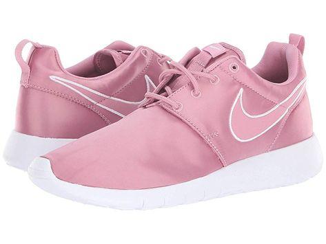 ab4d3337ece4 Nike Kids Roshe Run (Little Kid Big Kid) Girls Shoes Elemental  Pink Elemental Pink White