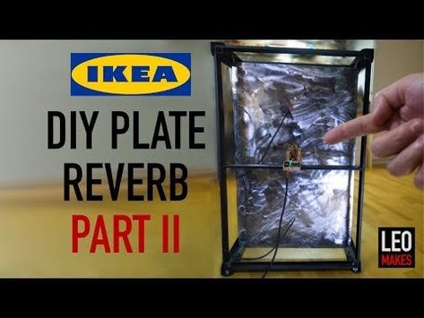 Part 2 IKEA Plate Reverb Hack It Sounds Amazing Now WeAreTheMusicMakers