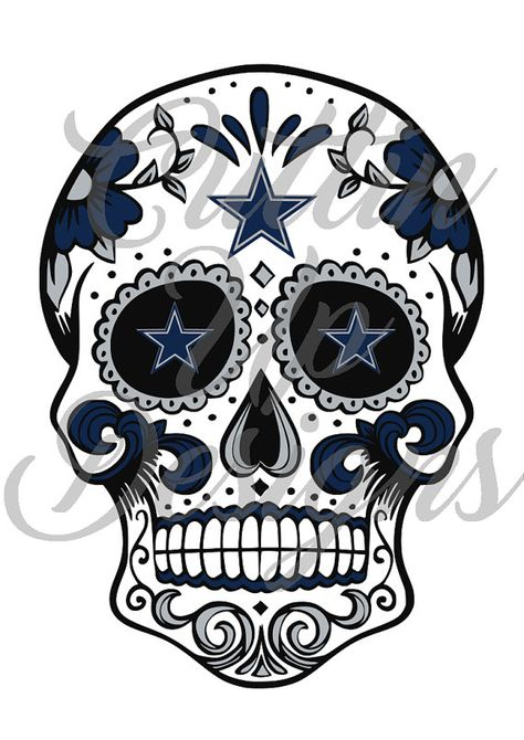 Atlanta Falcons Sugar Skull Day of the Dead SVG Cutting File Cricut or Cameo (Designer Edition required) Easy Cut Easy Layer Football by CuttinUpGifts on Etsy Dallas Cowboys Football, Pittsburgh Steelers, Dallas Cowboys Clipart, Dallas Cowboys Tattoo, Dallas Cowboys Pictures, Cowboy Pictures, Cowboys 4, Skull Pictures, Alabama Football