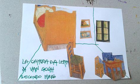 La Camera da letto di Van Gogh a modo mio! | Arte di bambino ...