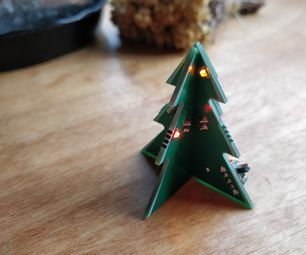 1 Pcb Christmas Tree Christmas Christmas Tree Mechanical Projects