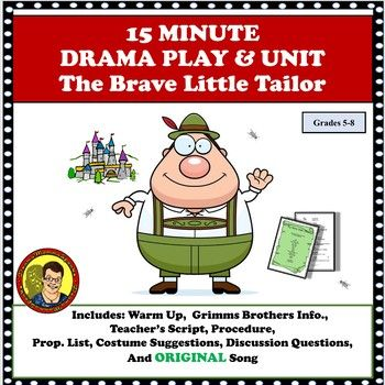 15 Minute Drama Play Unit The Brave Little Tailor