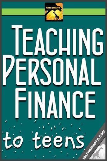 Teaching Personal Finance to Teens