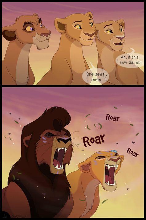 It's a comic book about new rulers pride - Kovu and Kiara