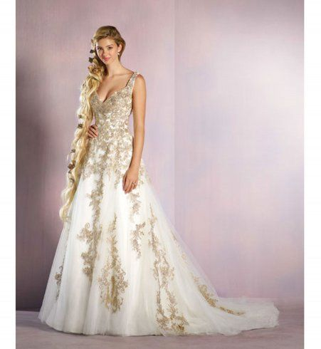 De Sublimes Robes De Mariees Inspirees Des Princesses Disney