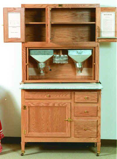 Hoosier Cabinet Kit | 01-315 - Hoosier Kitchen Cabinet Woodworking Plan