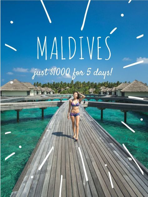 Is the Maldives expensive? Find out how to do Maldives on a budget, how to get to Maldives and more!: