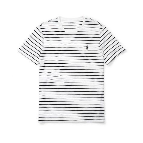 Polo Ralph Lauren Striped Cotton Jersey T Shirt ($25