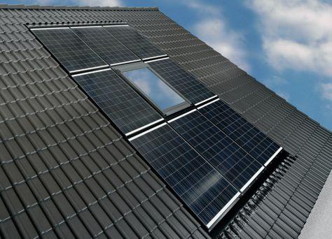 Velux Und Braas Kooperieren Fur Nahtloses Dachfenster Photovoltaik Indach Konzept Dachfenster Flachdach Fenster Dach